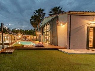 Magnifique LOFT avec piscine privee  - 12 personnes