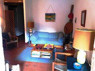 Charmant appartement à Gigaro à 100m de la plage, avec jardin / 5 - 6 personnes