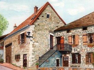 Bourgogne - Voie Verte - Piste Cyclable - Peche - Vignoble - Nature -gastronomie