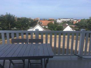 appartement 4 pers vue mer à Wissant avec balcon
