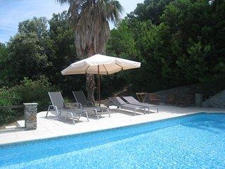 Villa 300 M2, Piscine, proche de la plage a pied , Saint-Florent, Haute Corse