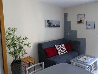 vue agreable, appartement confortable et lumineux