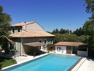 Superbe Maison de Maître en Provence avec piscine XXL