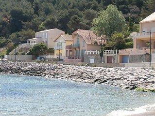 Grande maison front de mer emplacement unique