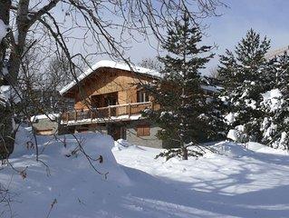 Chalet de montagne indépendant dans un pré de 1500 m² .12 pers.