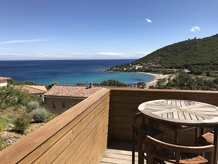 Villa clemat à Tarco face à la mer
