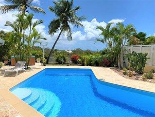 Villa d'exception vue mer avec piscine et jacuzzi