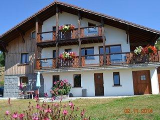 Appartement 3 pers plain-pied La Bresse Hautes Vosges environnement calme