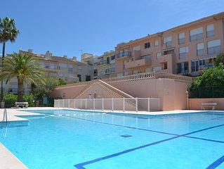 Appartement Saint-Tropez avec vue mer à 5 minutes du port