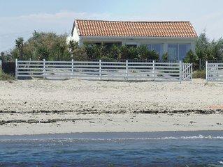 Villa directe sur la plage 4 chambres