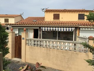 Villa F3 mezzanine, véranda, parking, très agréable pour vivre en famille