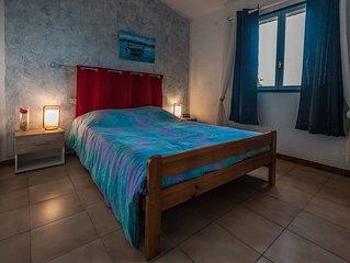 Mini-villa, 2 chambres vue sur mer