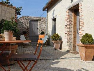 Cottage de La Boussole, sur les bords de Loire, classe ****