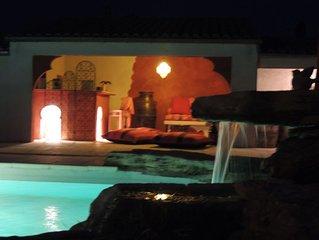 Villa au Calme avec piscine face au Ventoux idéal pour se ressourcer