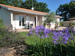 LOCABUCH - BASSIN D'ARCACHON agreable maison de vacances tout confort