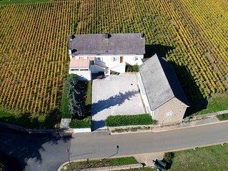 Le Gite du Montrachet - Maison situee au coeur des vignes a Chassagne-Montrachet