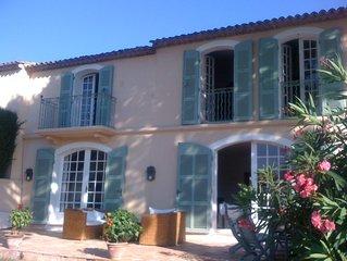 Spacious house to rent in Port Grimaud / Grande et Belle maison à Port Grimaud