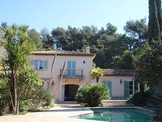 Villa avec piscine, domaine prive Cap Benat, Bord de mer