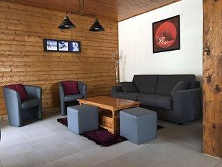 Appartement 6/8pers calme et spacieux au cœur du village