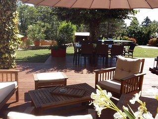 Tres jolie maison de campagne avec piscine  , cadre ideal pour vos vacances