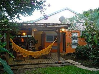 Gîte Ti Karet idéalement situé à Deshaies dans le Nord de Basse Terre