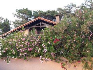 Villa landaise a 200 m de la plage a Capbreton (Landes-France)
