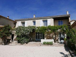 Maison de vacances 'Lou Canto Cigalo' - Climatisée - Jardin et piscine privés