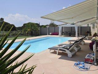 Villa Lyce a Roquebrune/Argens,plain pied,piscine privee,ch. climatisees.