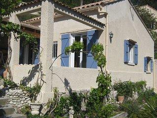 Maison T3 et jardin, au coeur des calanques, proche Marseille et Carry-Le-Rouet