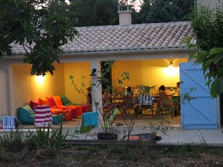 Très Belle Maison 200m2 - piscine et jardin privé -  Vaison La Romaine