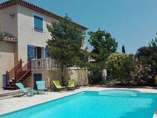 Belle villa climatisée avec piscine, Cévennes ville et mer