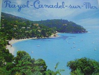 Appartement vue sur mer exceptionnelle dans villa individuelle Côte d'Azur