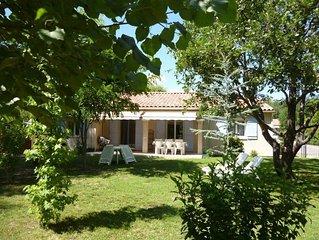 Villa de standing 3 chambres dans résidence privée, avec piscine à partager