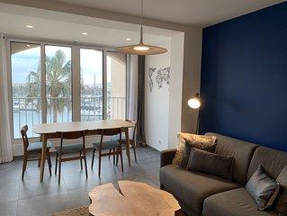 Nouveau : Appartement sur le port de Cogolin, Golfe de Saint-Tropez