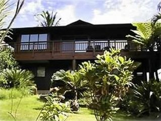 TCNC # 1161   All Cedar Home - Breathtaking Hanalei Bay and Mountain Views