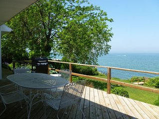 LAKEFRONT GETAWAY~ Lake Michigan Waterfront Home Close To Downtown New Buffalo!