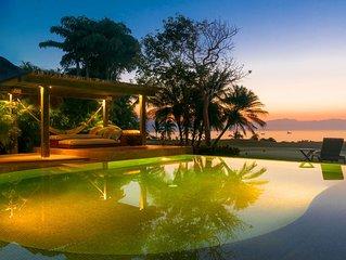 'Absolute bliss.' Fully Staffed Balinese-Mexican Oceanfront Living Golf & Beach