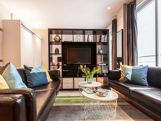 Discounted $! Center of Madrid. Steps to Museums, Plazas and GranVia. Luxury Apt
