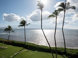 OCEANFRONT CONDO with STYLE, COMFORT, & AMAZING  VIEWS of OCEAN & HALEAKALA