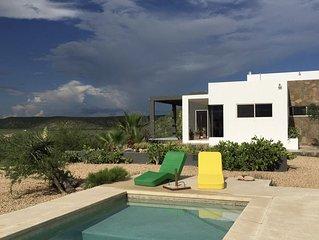 Mi Casa, in the Desert Between Ocean and Mountains