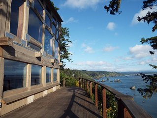 Gorgeous Trinidad Bay Harbor Ocean Views Epic Location