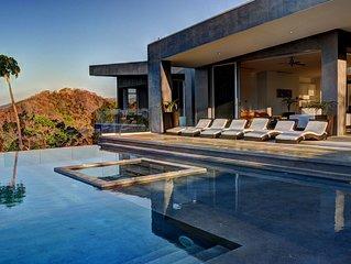 Gorgeous, Modern Villa, Hillside and Ocean Views, Infinity Pool!