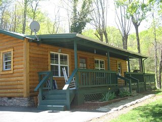 Spacious Semi-Private Cypress Siding Cabin off Tenn River on small mountain!