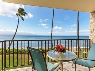 Maui Beach Front Experiance - Just Steps To The Sand!*Kanai A Nalu 204*