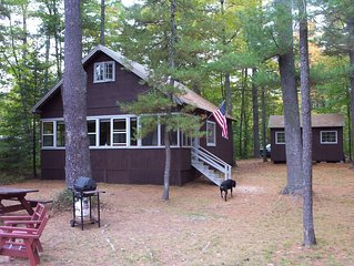 Relax & Recharge! Tranquil Family-Owned Cottage, Sebago Lake Area, Pets free