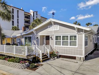Stunning NEW 2BR/2BA Executive Beach Home Steps to Sand. Loaded w/Everything!