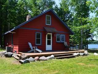 Winterberry Cottage on Whitefish Lake, Three Lakes WI Available May 25, 2019