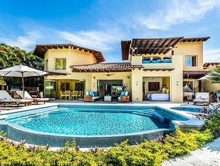 Villa Ipanema at Las Palmas, Punta Mita -4BDR- Ocean view, beach, tennis & golf