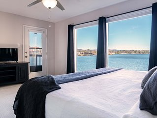 Lake Hamilton Condo-Main Channel-Spectacular View