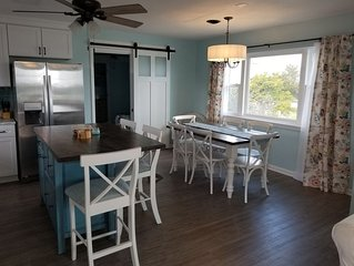 NEWLY RENOVATED: Ocean View with a walk across the street to public beach access